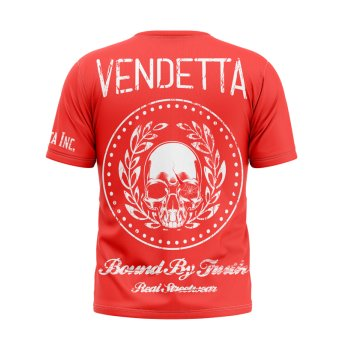 Vendetta Inc. Shirt Bound 1006 rot