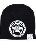 Vendetta Inc. Slouch Beanie Logo Patch black