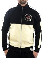 Vendetta Inc. Sweatjacke Crush 5001 schwarz-beige S
