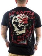 Vendetta Inc. Shirt Hell Skull 1039 black