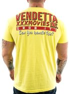 Vendetta Inc. Shirt XXX Movies 1048 yellow