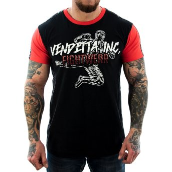 Vendetta Inc. Shirt Streetfighter Tape 1049 schwarz S