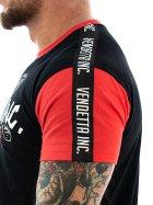 Vendetta Inc. Shirt Streetfighter Tape 1049 black 3XL