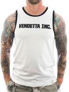 Vendetta Inc. Tanktop Inc. Sports 6001 weiß