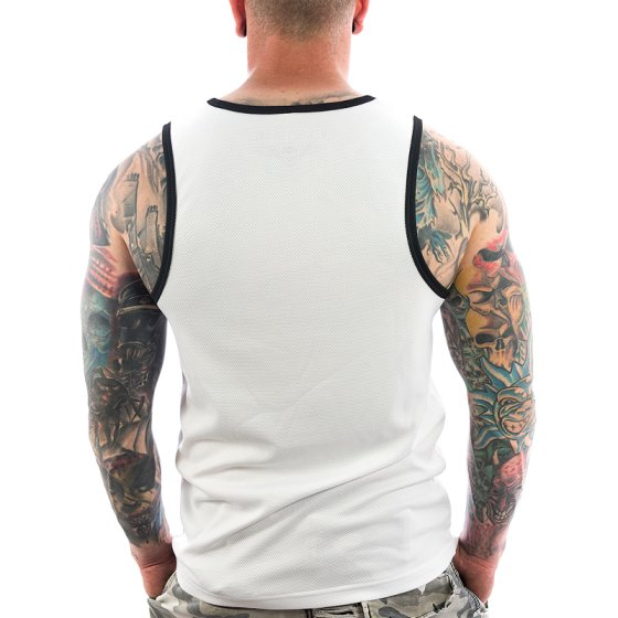 Vendetta Inc. Tanktop Inc. Sports 6001 weiß