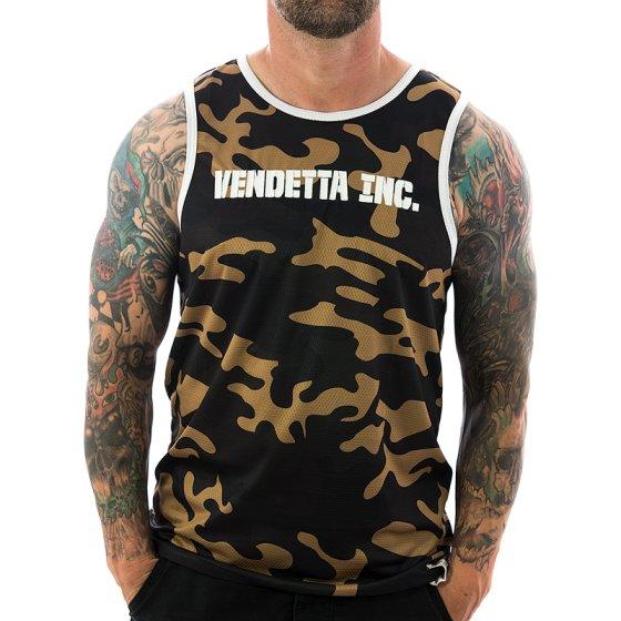 Vendetta Inc. Tanktop Inc. Sports 6001 camo
