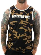 Vendetta Inc. Tanktop Inc. Sports 6001 camo