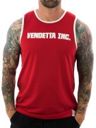 Vendetta Inc. Tanktop Inc. Sports 6001 rot