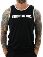 Vendetta Inc. Tanktop Inc. Sports 6001 schwarz