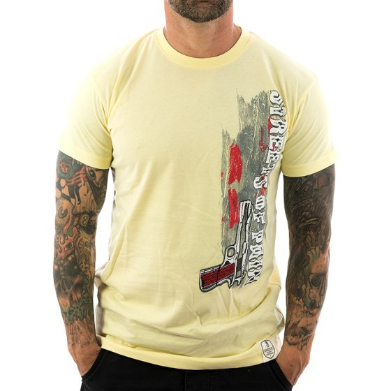 Vendetta Inc. Shirt Streets of Pain 1064 yellow