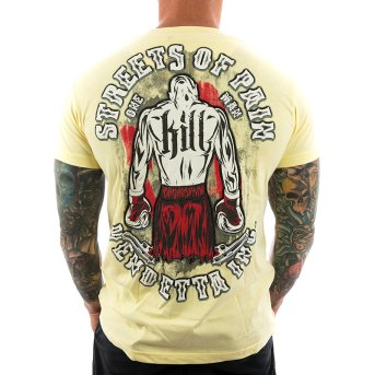 Vendetta Inc. Shirt Street of Pain 1064 gelb S