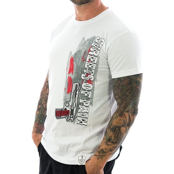 Vendetta Inc. Shirt Streets of Pain 1064 weiß M