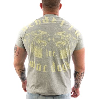 Vendetta Inc. Shirt War Dogs 1065 grau S