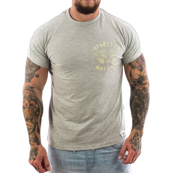 Vendetta Inc. Shirt War Dogs 1065 grau 3XL