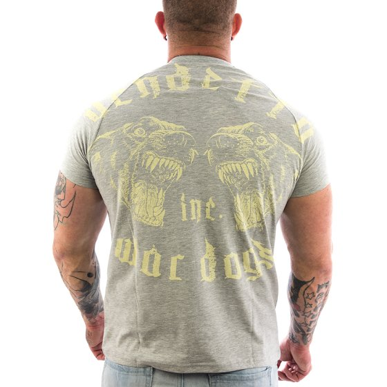 Vendetta Inc. Shirt War Dogs 1065 grau 4XL