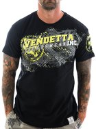 Vendetta Inc. Shirt Sportswear 1069 schwarz M