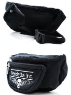 Vendetta Inc. Belt Pouch Black Logo Patch