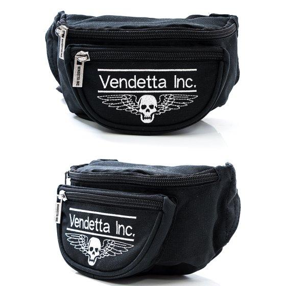 Vendetta Inc. Gürteltasche schwarz Logo Patch