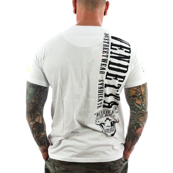 Vendetta Inc. Shirt Mexican Mafia 1071 weiß M