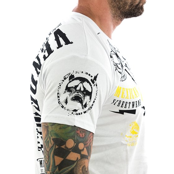 Vendetta Inc. Shirt Mexican Mafia 1071 weiß L