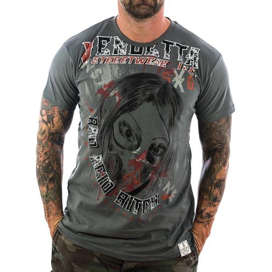 Vendetta Inc. Shirt Insane 1072 antracite M
