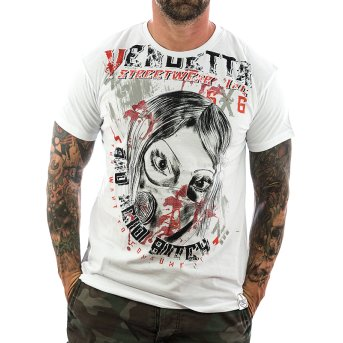 Vendetta Inc. Shirt Insane 1072 weiß M