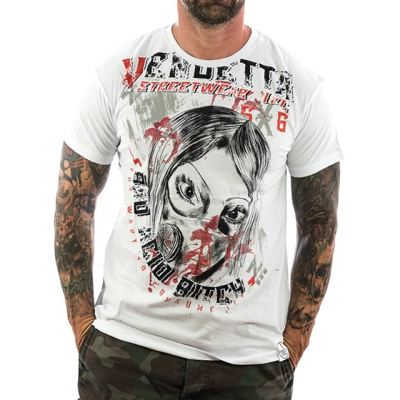 Vendetta Inc. Shirt Insane 1072 weiß XL