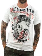 Vendetta Inc. Shirt Insane 1072 white 4XL