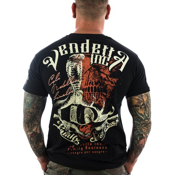 Vendetta Inc. Shirt Family Business 1070 black
