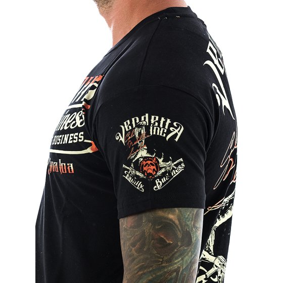 Vendetta Inc. Shirt Family Business 1070 schwarz XXL
