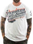 Vendetta Inc. Shirt Family Business 1070 white M