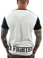 Vendetta Inc. Shirt La Fighter 1075 white-black