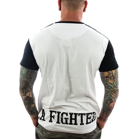 Vendetta Inc. Shirt La Fighter 1075 weiß-schwarz XXL
