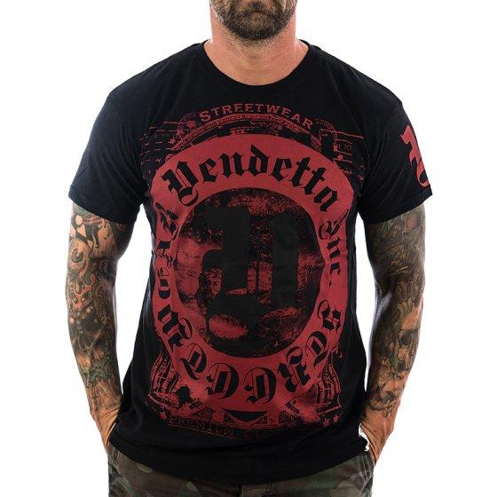 Vendetta Inc. Shirt Blood Logo 1074 black
