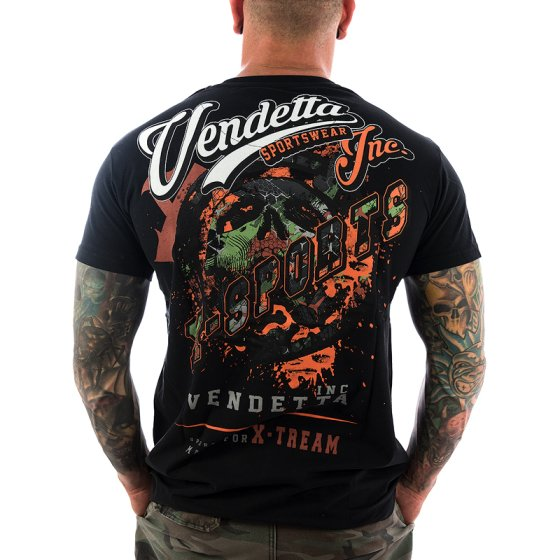 Vendetta Inc. Shirt X-Sports 1073 schwarz