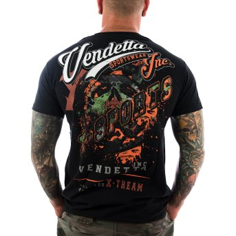 Vendetta Inc. Shirt X-Sports 1073 schwarz S