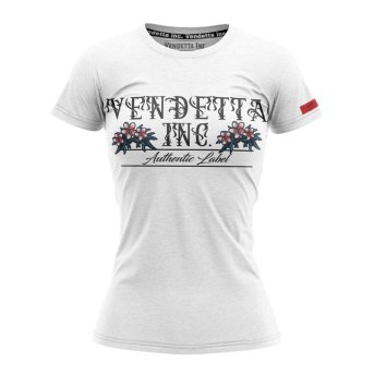 Vendetta Inc. Shirt Flower 0002 white XS
