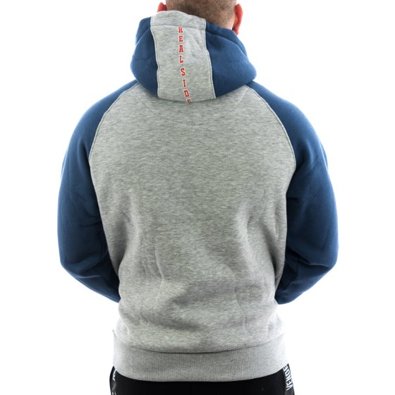 Vendetta Inc. Hoodie Real Side 4008 grau navy