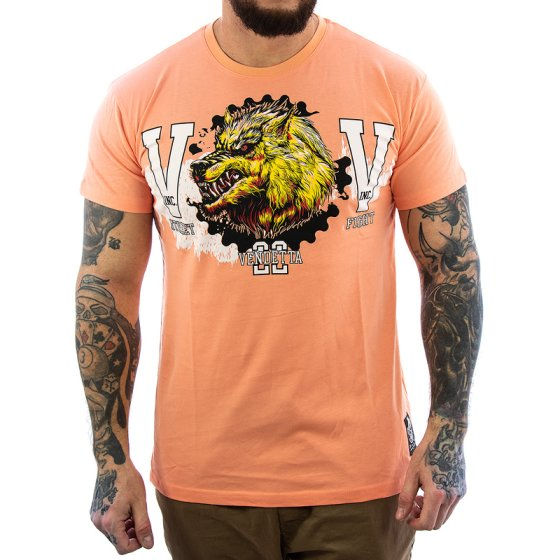 Vendetta Inc. Street Fighter II Shirt 1079 papaya