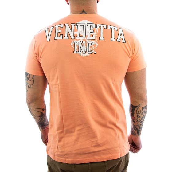Vendetta Inc. Street Fighter II Shirt VD-1079 papaya