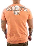 Vendetta Inc. Street Fighter II Shirt VD-1079 papaya