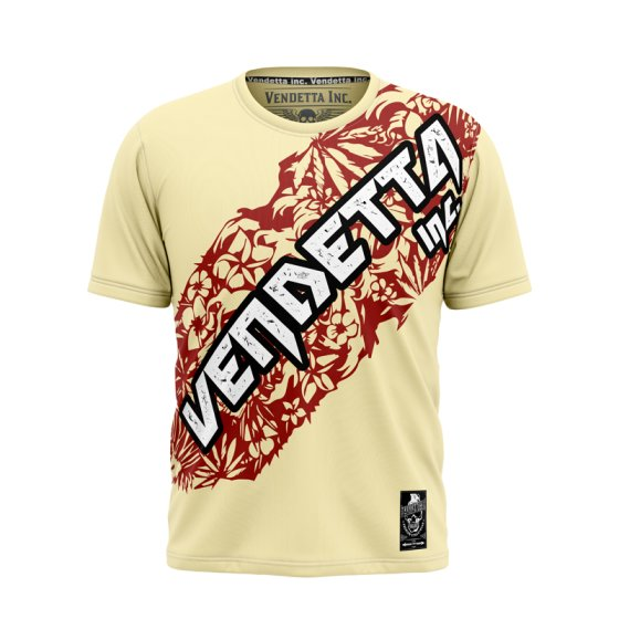 Vendetta Inc. Dark Side Shirt VD-1081 light gelb M