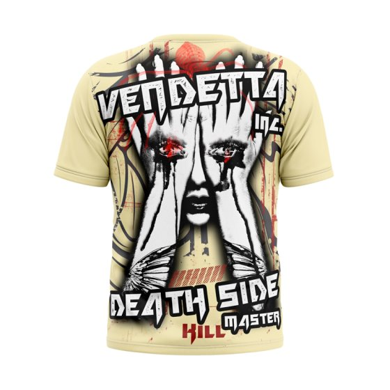 Vendetta Inc. Dark Side Shirt VD-1081 light gelb L