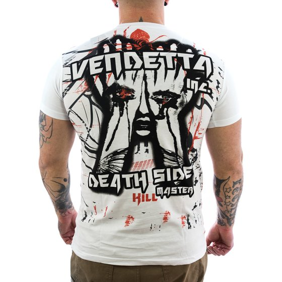 Vendetta Inc. Dark Side Shirt VD-1081 weiß XL