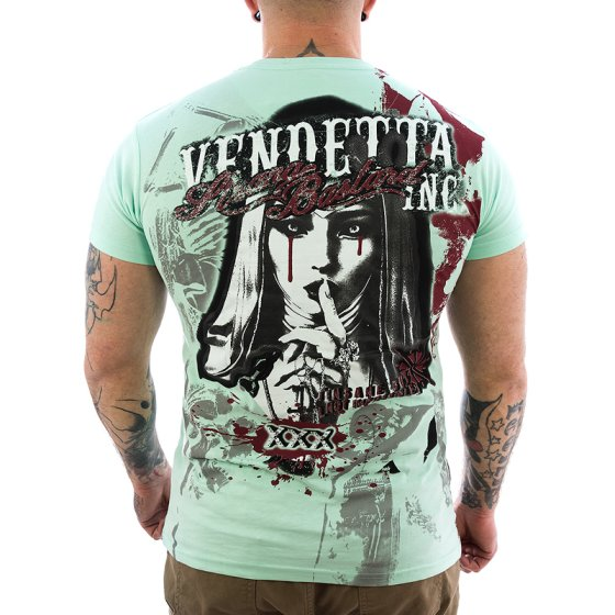 Vendetta Inc. Shirt Strange Bastard 1052 mint