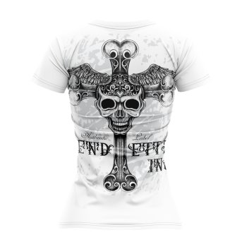Vendetta Inc. Shirt Free Skull 0003 weiss XS
