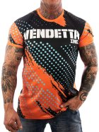 Vendetta Inc. Mesh Allover Shirt schwarz 1077 L