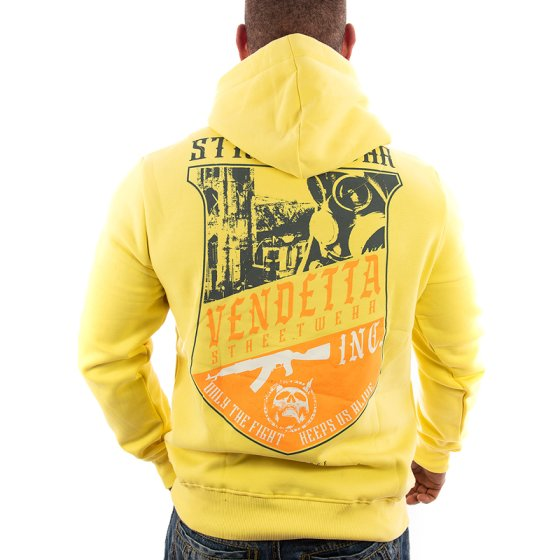 Vendetta Inc. Hoodie Judge VD-4011 yellow
