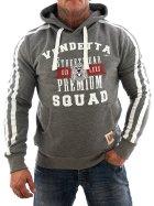 Vendetta Inc. Sweatshirt Squad VD-3005 gray