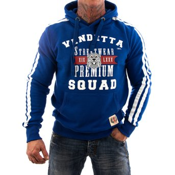 Vendetta Inc. Sweatshirt Squat VD-3005 navy S
